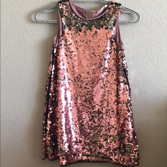 62161854c8 H&M Dresses | Girls Changing Sequin Dress | Poshmark